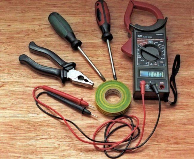 вводный инструменты электрокабель