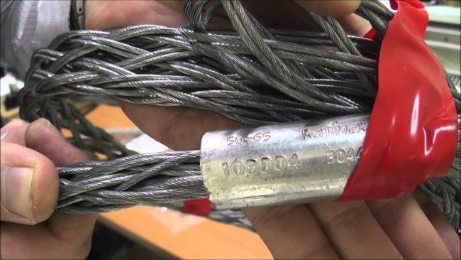 для протяжки кабеля