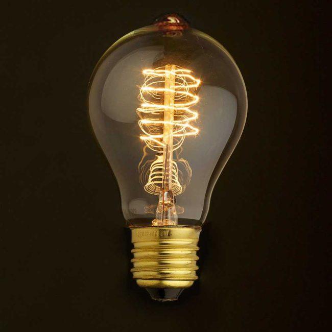Лампы накаливания, договор на подключение электричества