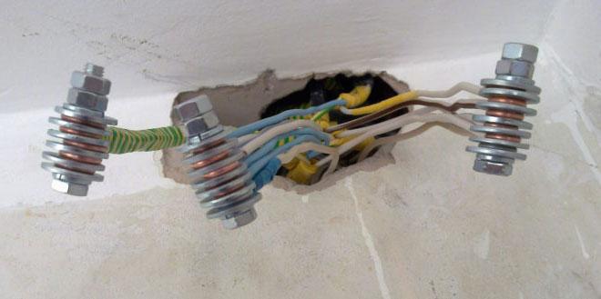 вводный провода электрокабель