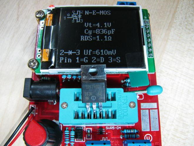 ESR – тестер прибор таранзистор