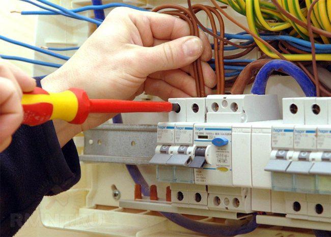 Uzo маркировка проводников в щите
