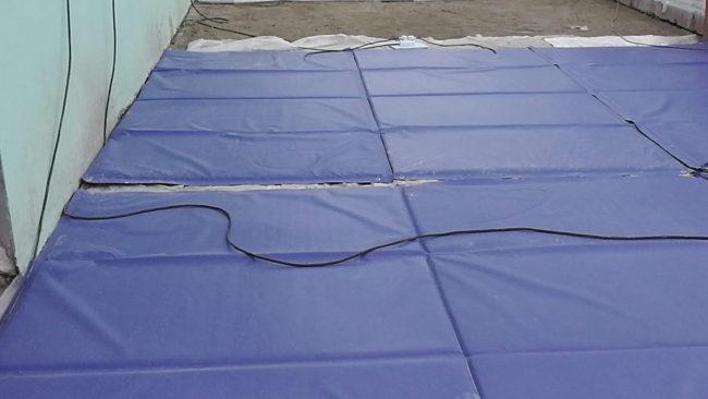 Частые ошибки при прогреве бетона, зимой