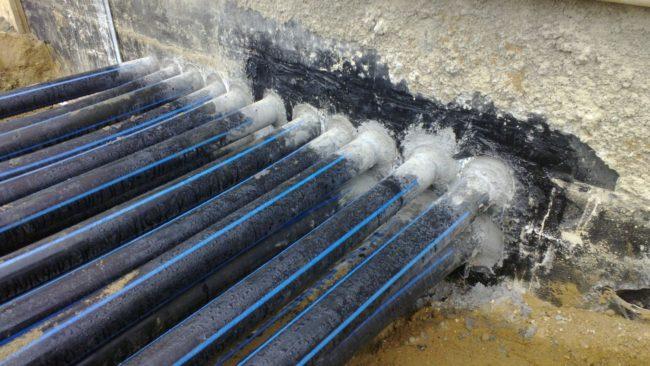 герметизация кабеля