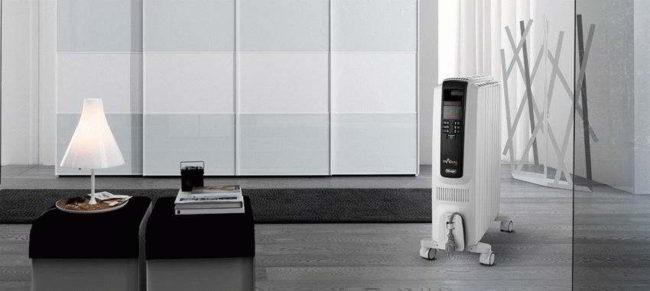 комната, масляные обогреватели модели