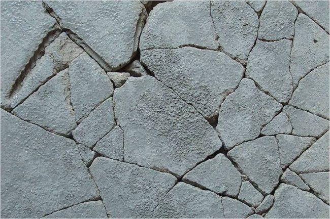 трещины в бетоне, прогрев зимой
