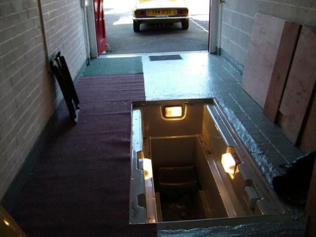 подключение гаражного освещения
