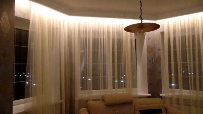 Как сделать штор светодиодной