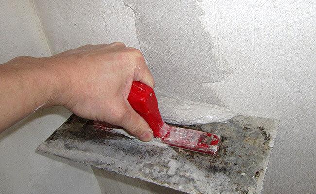 Заделка штроб под электропроводку, ошибки монтажа проводки