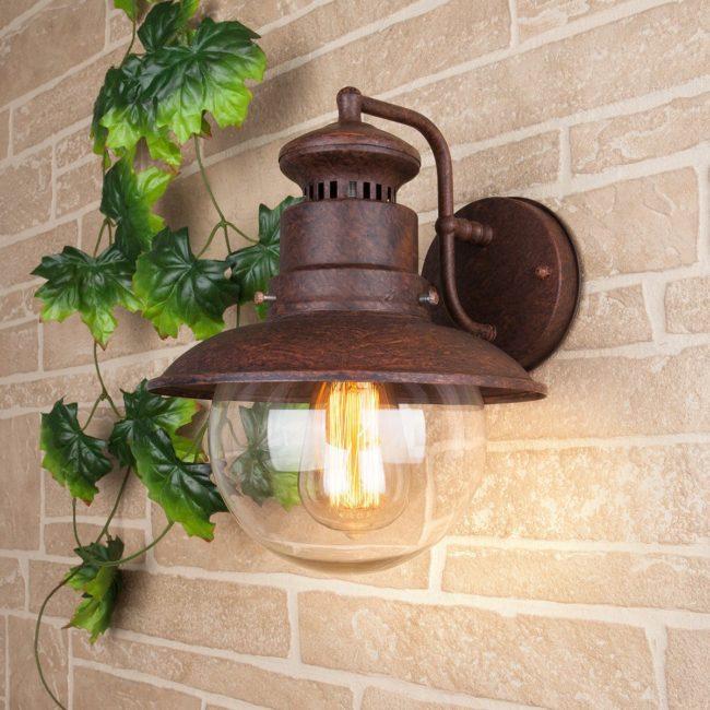 лампа, установка фотореле