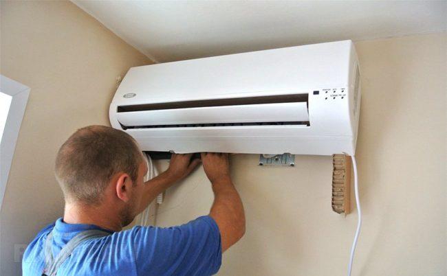 Как правильно выполнить монтаж кондиционера в квартире