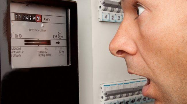 увеличения использования расхода электроэнергии, сэкономить