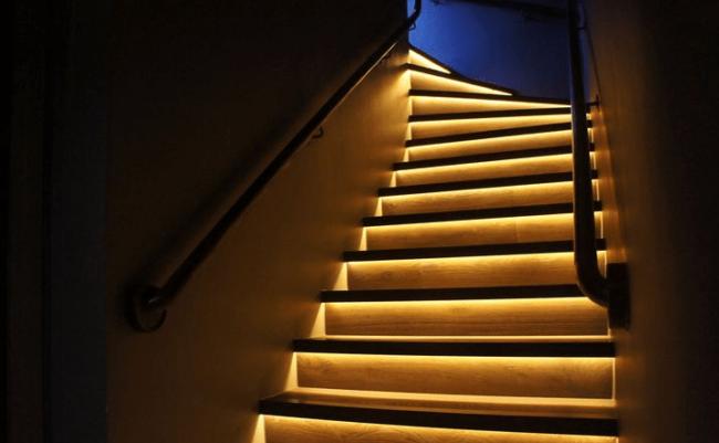Светодиодная ступеней лестницы