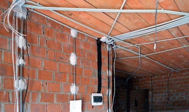 montazh_elektroprovodki_v_dome, электропроводка в доме из газобетона