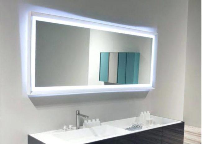 Светодиодная подсветка зеркала ванной выбор