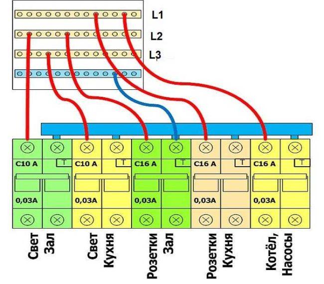 конструкция схема кросс-модуля