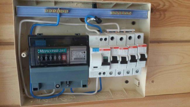 учёта расхода электричества марки Меркурий