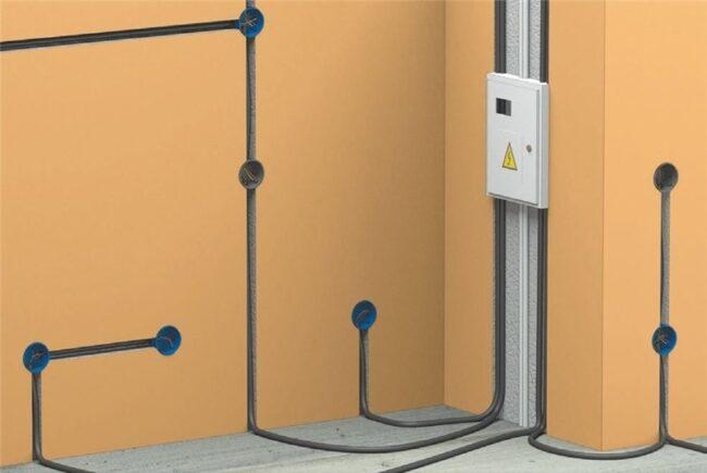 Монтаж электропроводки в доме