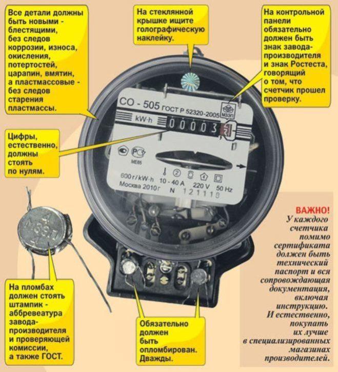 электросчётчик СО 505