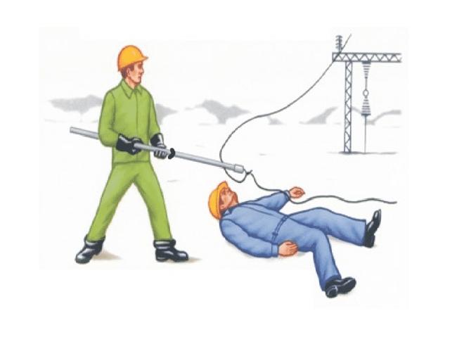 спасение пострадавшего при ударе электрическим током