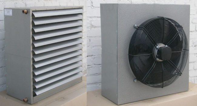 Тепловентиляторы короб модели