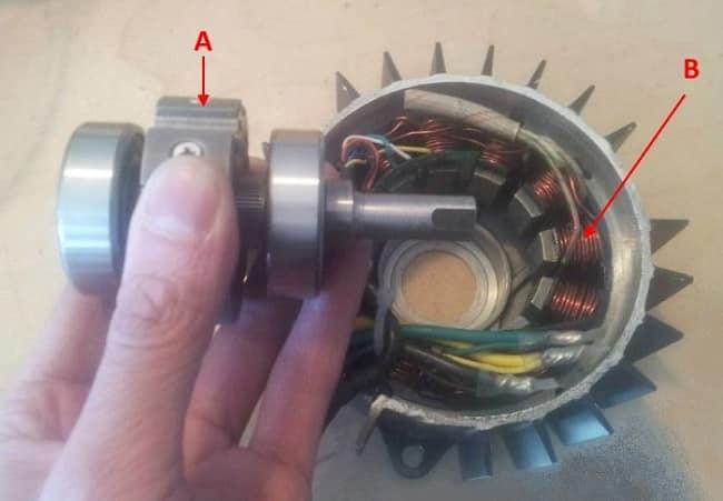 Бесколлекторный постоянного тока двигатель
