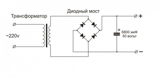 диодный трансформатор мост