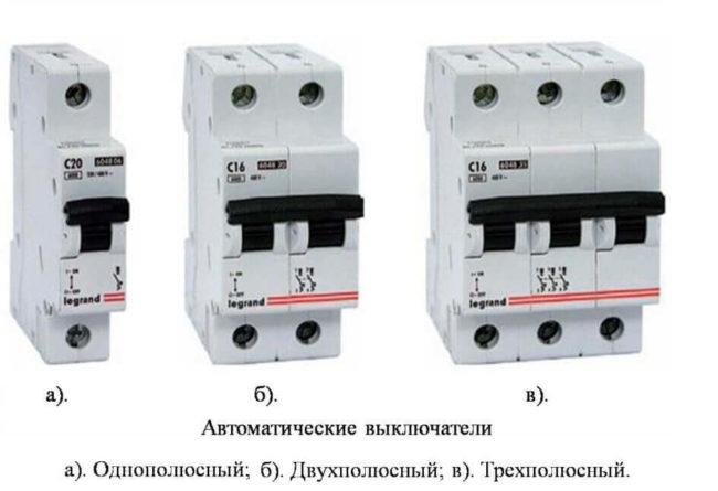 Обзор автоматических АВВ выключателей