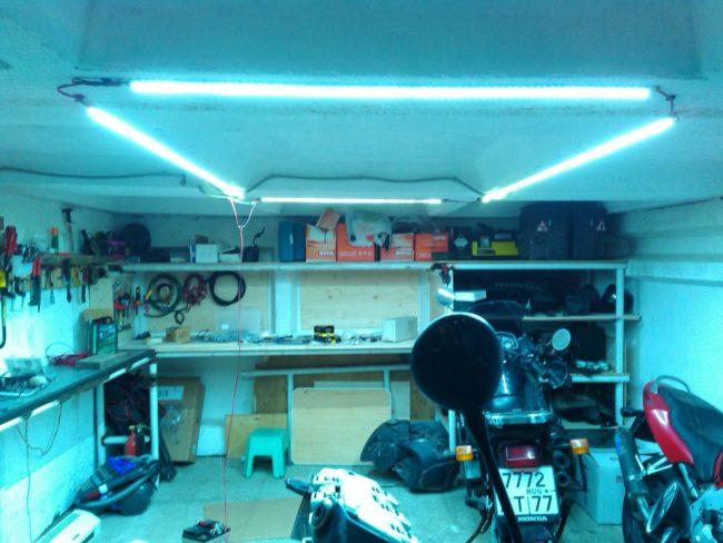 автономное гаража освещение